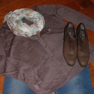 Loft Size XL Brown Sweater NWT